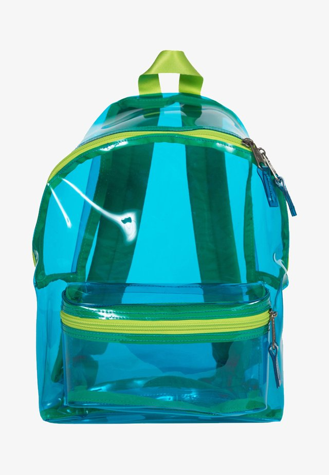 TRANSPARENT/CONTEMPORARY - Mochila - aqua film
