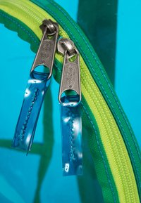 Eastpak - TRANSPARENT/CONTEMPORARY - Rucksack - aqua film - 3