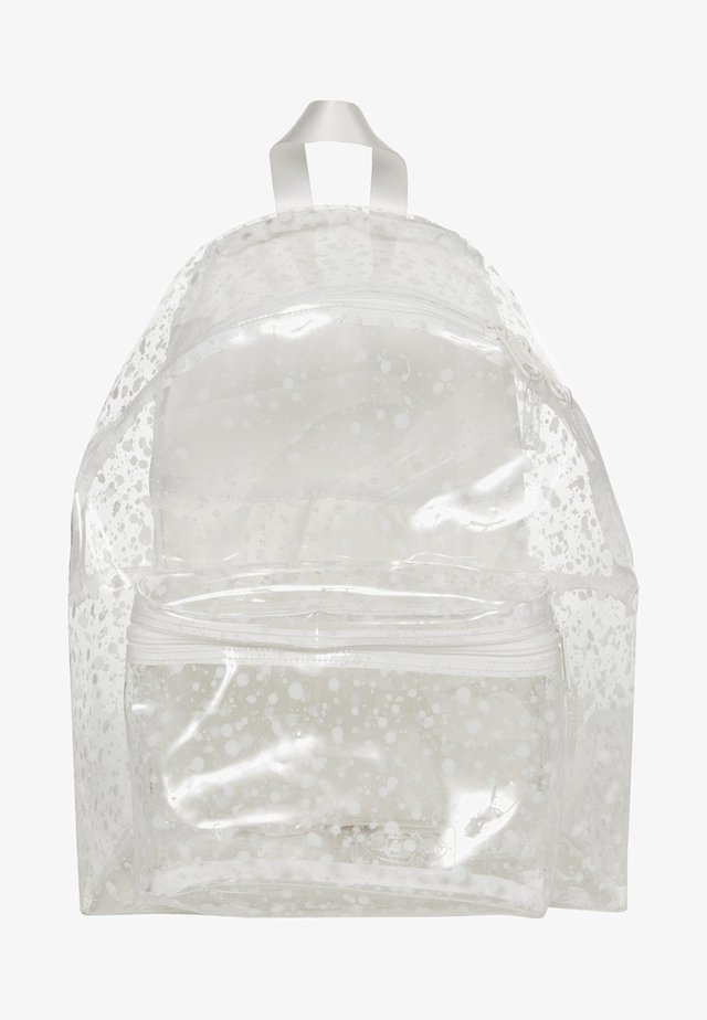 CRYSTAL CLEAR - Mochila - splash white