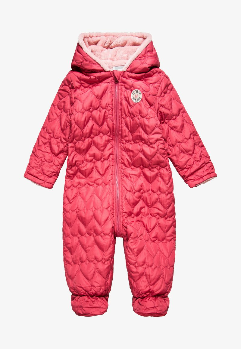 Eat ants by Sanetta - OUTDOOROVERALL BABY - Snowsuit - raspberry