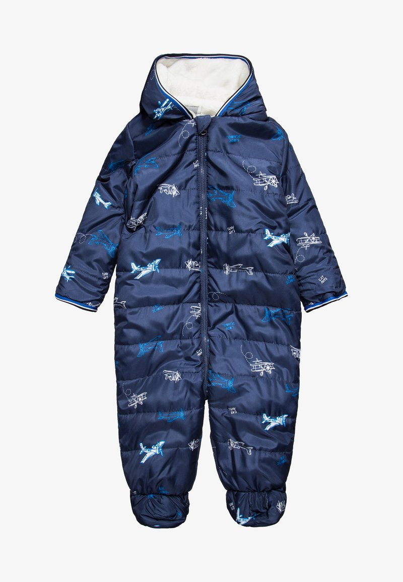 Eat ants by Sanetta - OUTDOOROVERALL BABY - Snowsuit - evening blue