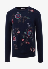 Essentiel Antwerp - LYRICS - Strikpullover /Striktrøjer - dark blue - 3