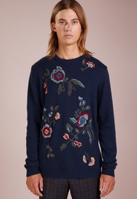 Essentiel Antwerp - LYRICS - Strikpullover /Striktrøjer - dark blue - 0