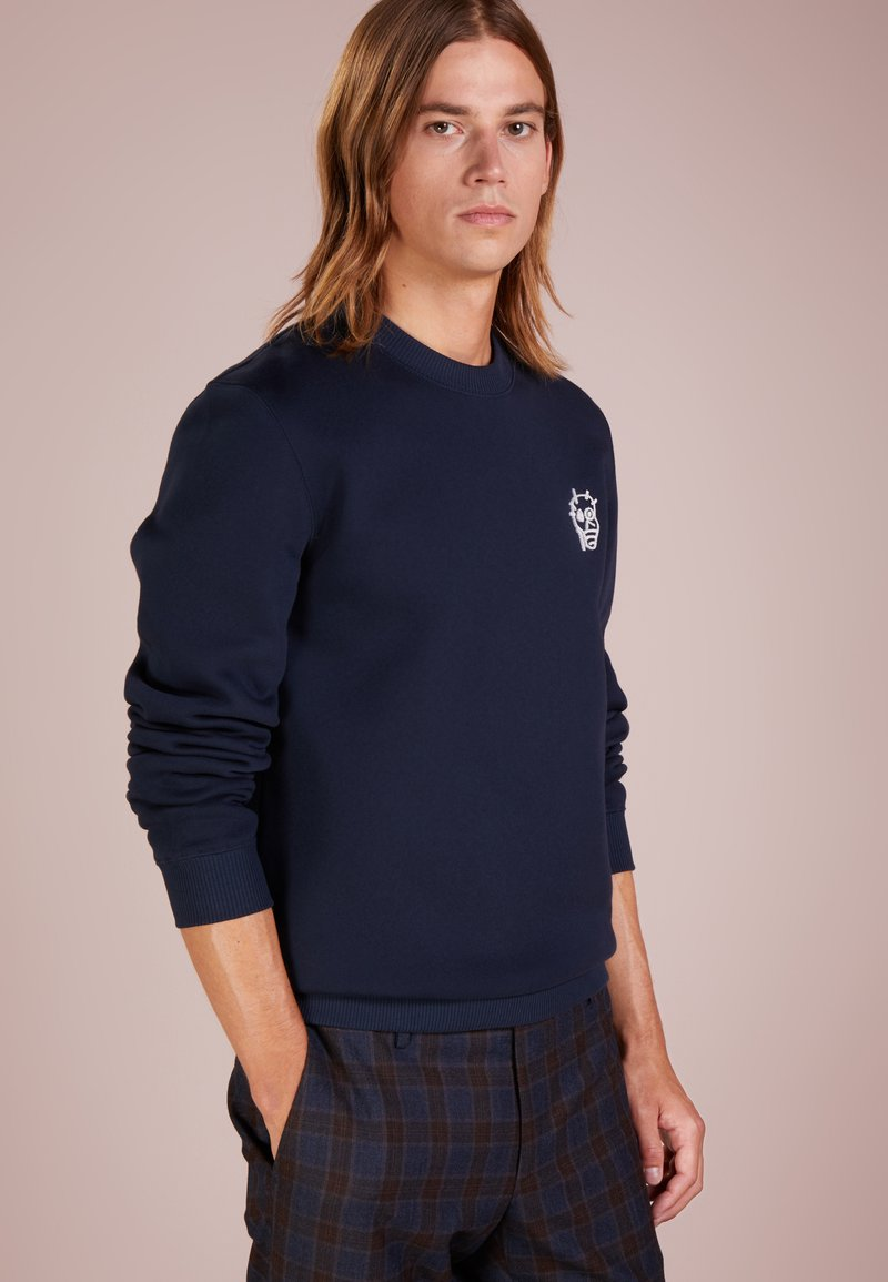 Essentiel Antwerp - LEOPARD - Sweatshirts - navy