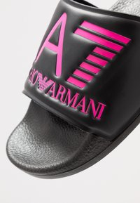 EA7 Emporio Armani - NEON - Sandaler - black / neon pink - 2