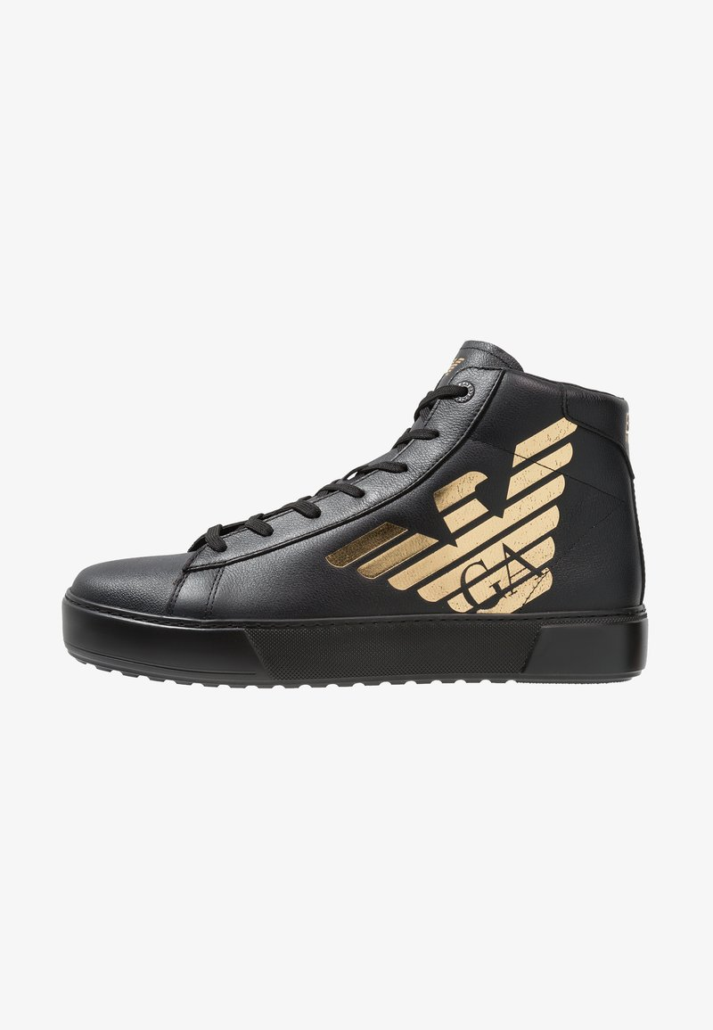 EA7 Emporio Armani - TOP - Sneaker high - black/gold