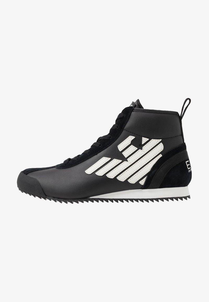 EA7 Emporio Armani - Höga sneakers - black