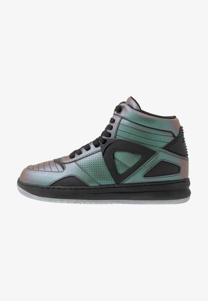 High-top trainers - iridescent