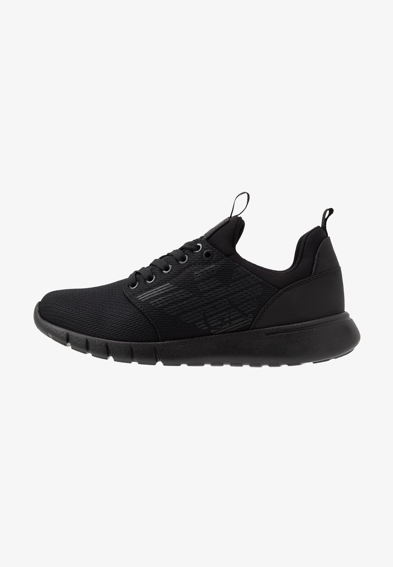 EA7 Emporio Armani - LACE UP  - Sneakers - triple black