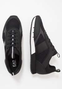 EA7 Emporio Armani - Matalavartiset tennarit - black/white - 1