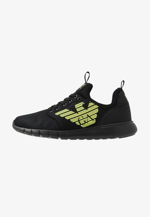 SIMPLE RACER  - Sneakers - black/neon