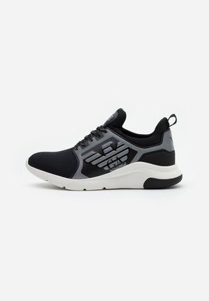 UNISEX - Trainers - black/silver