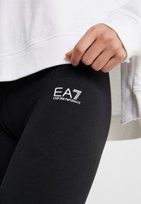EA7 Emporio Armani - Leggings - black/white - 5