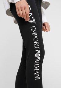 EA7 Emporio Armani - Leggings - black/white - 3
