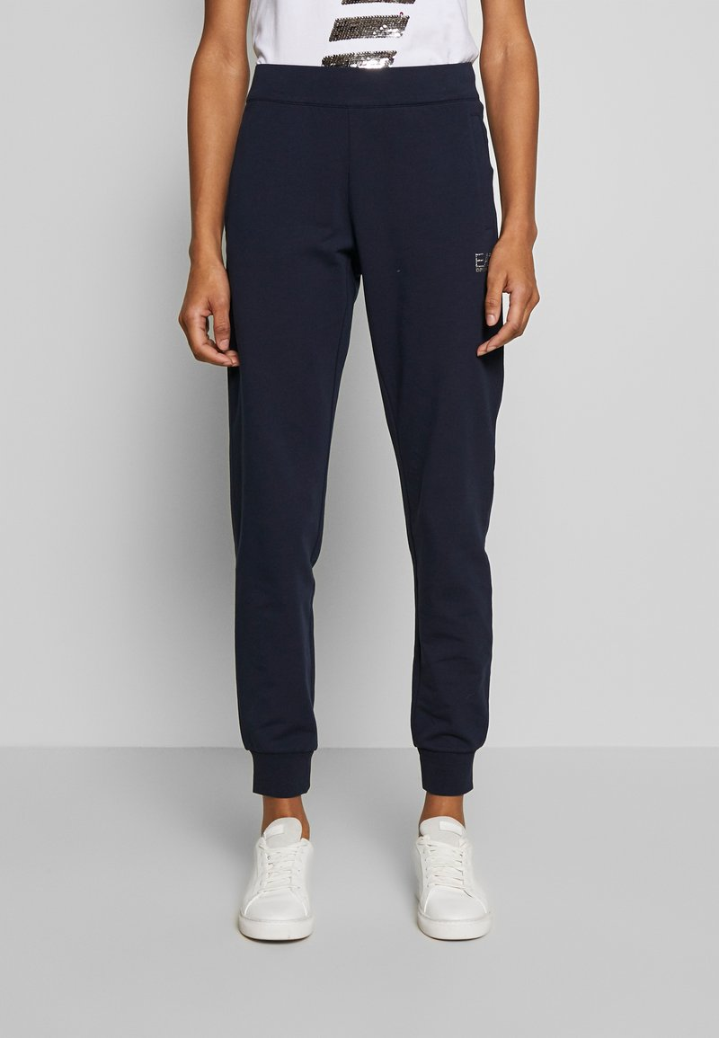 EA7 Emporio Armani - TROUSER - Trainingsbroek - navy