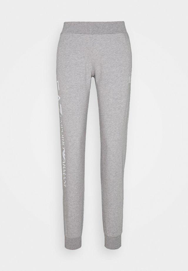 TROUSER - Tracksuit bottoms - grey med melange