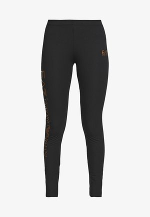 Leggings - Hosen - black/gold
