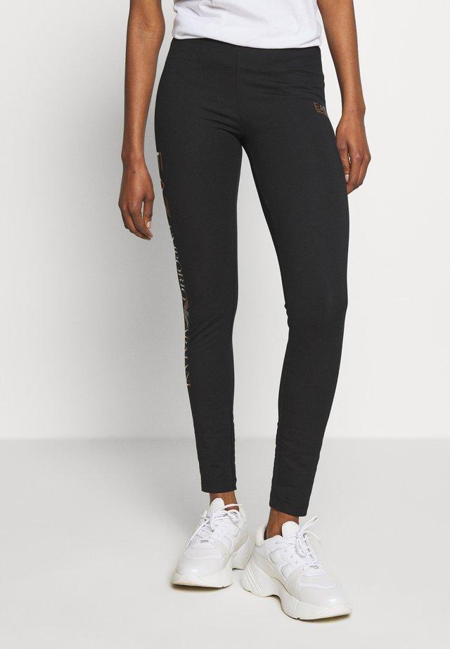 Legging - black/gold