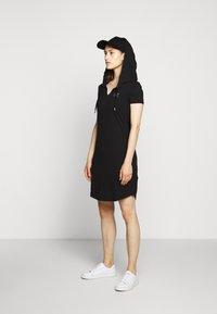 EA7 Emporio Armani - DRESS - Vestito di maglina - black - 1