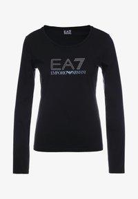 EA7 Emporio Armani - STUD  - Langærmede T-shirts - black - 4