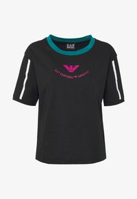 EA7 Emporio Armani - T-shirts med print - black - 4