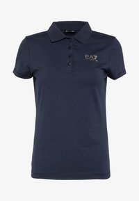 EA7 Emporio Armani - T-shirts med print - navy - 4