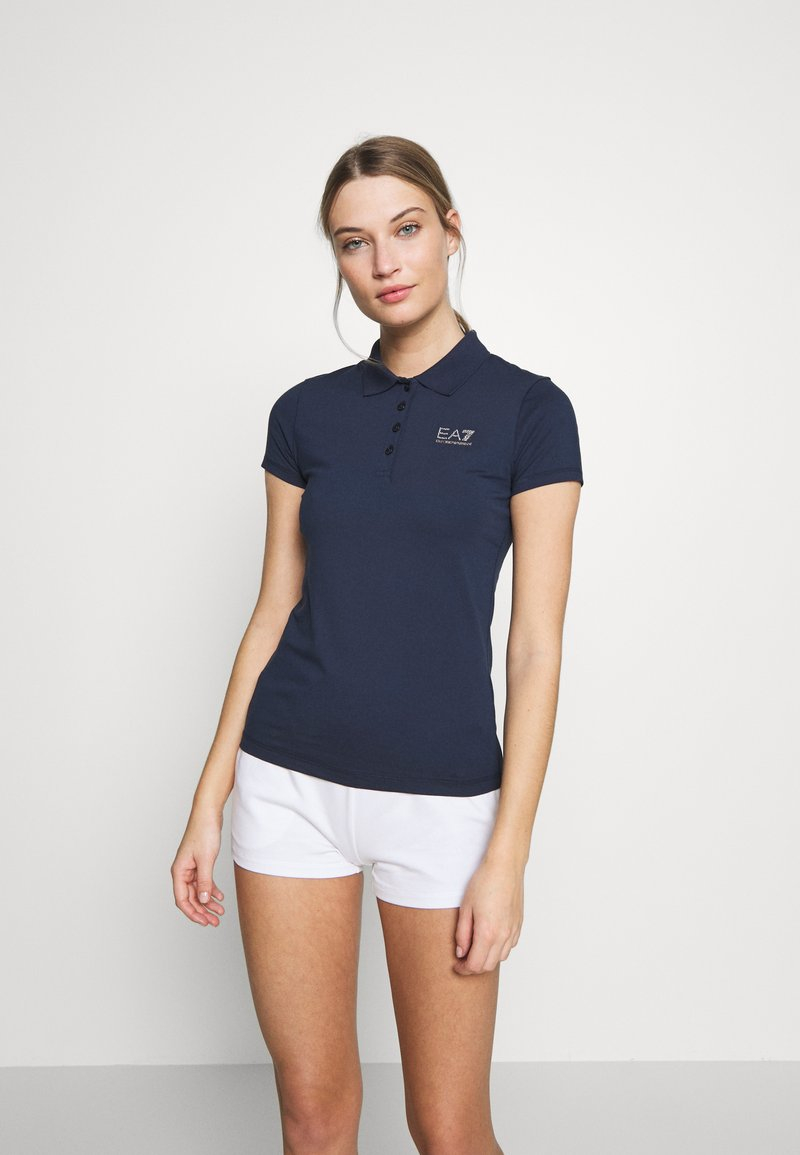 EA7 Emporio Armani - T-shirts med print - navy