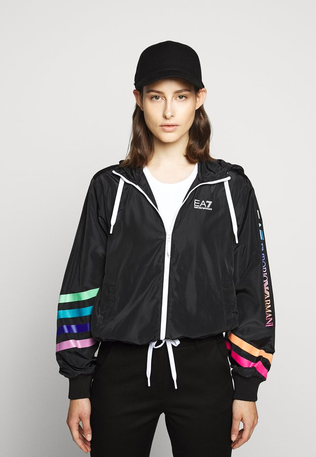 JACKET - Summer jacket - black