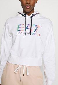 EA7 Emporio Armani - Hoodie - white - 5