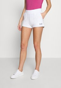 EA7 Emporio Armani - Shorts - white - 0