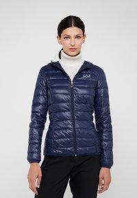 EA7 Emporio Armani - Down jacket - navy blue - 0