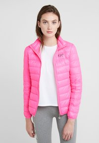 EA7 Emporio Armani - TRAIN CORE LADY - Untuvatakki - neon pink / black - 0