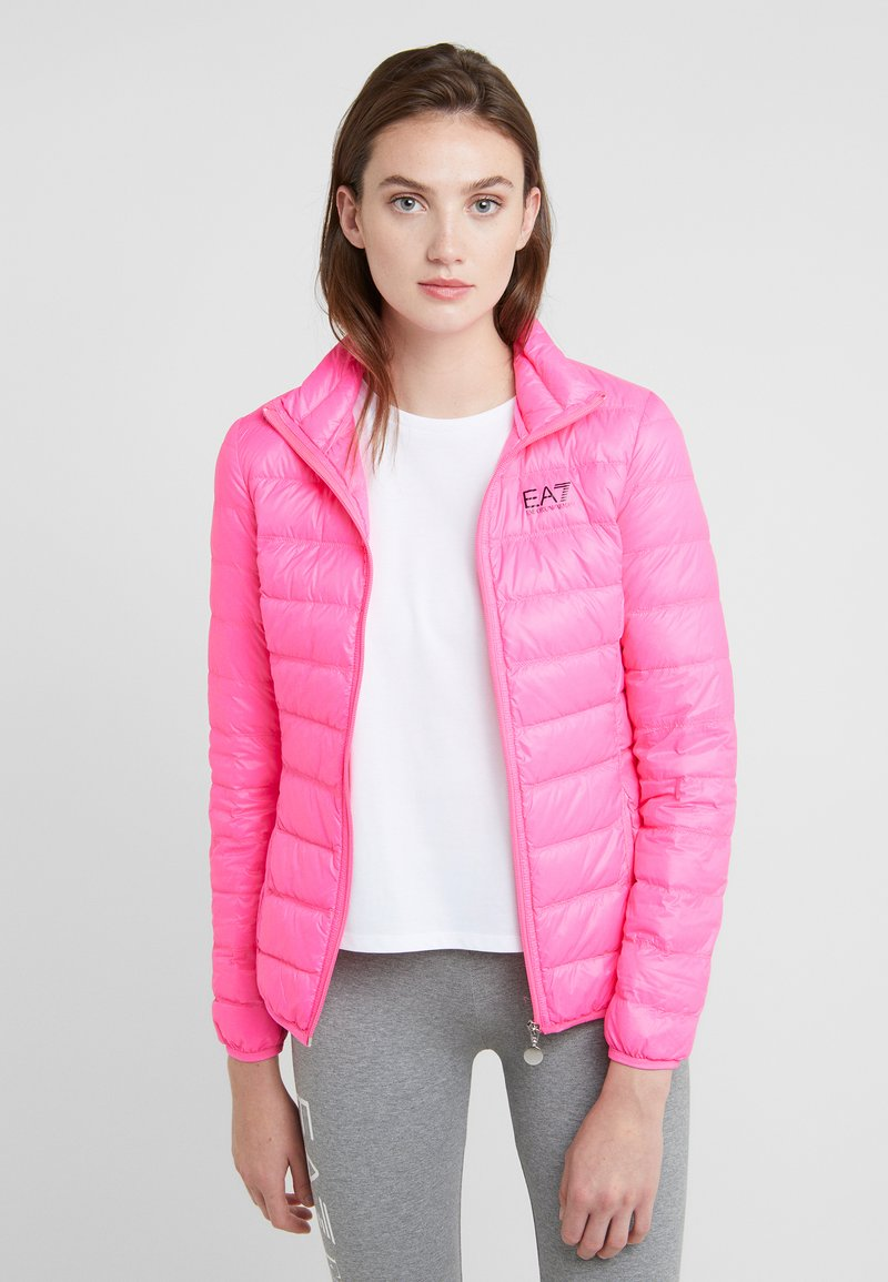 EA7 Emporio Armani - TRAIN CORE LADY - Untuvatakki - neon pink / black