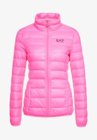 EA7 Emporio Armani - TRAIN CORE LADY - Untuvatakki - neon pink / black - 5