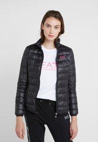 EA7 Emporio Armani - TRAIN CORE LADY - Doudoune - black / neon pink - 0