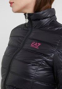 EA7 Emporio Armani - TRAIN CORE LADY - Doudoune - black / neon pink - 6