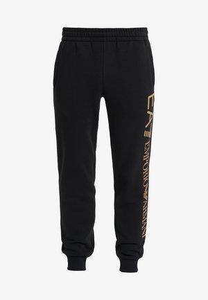 PANTALONI - Teplákové kalhoty - black/gold