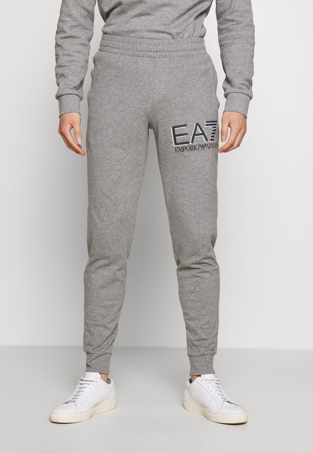 PANTALONI - Tracksuit bottoms - medium grey mel