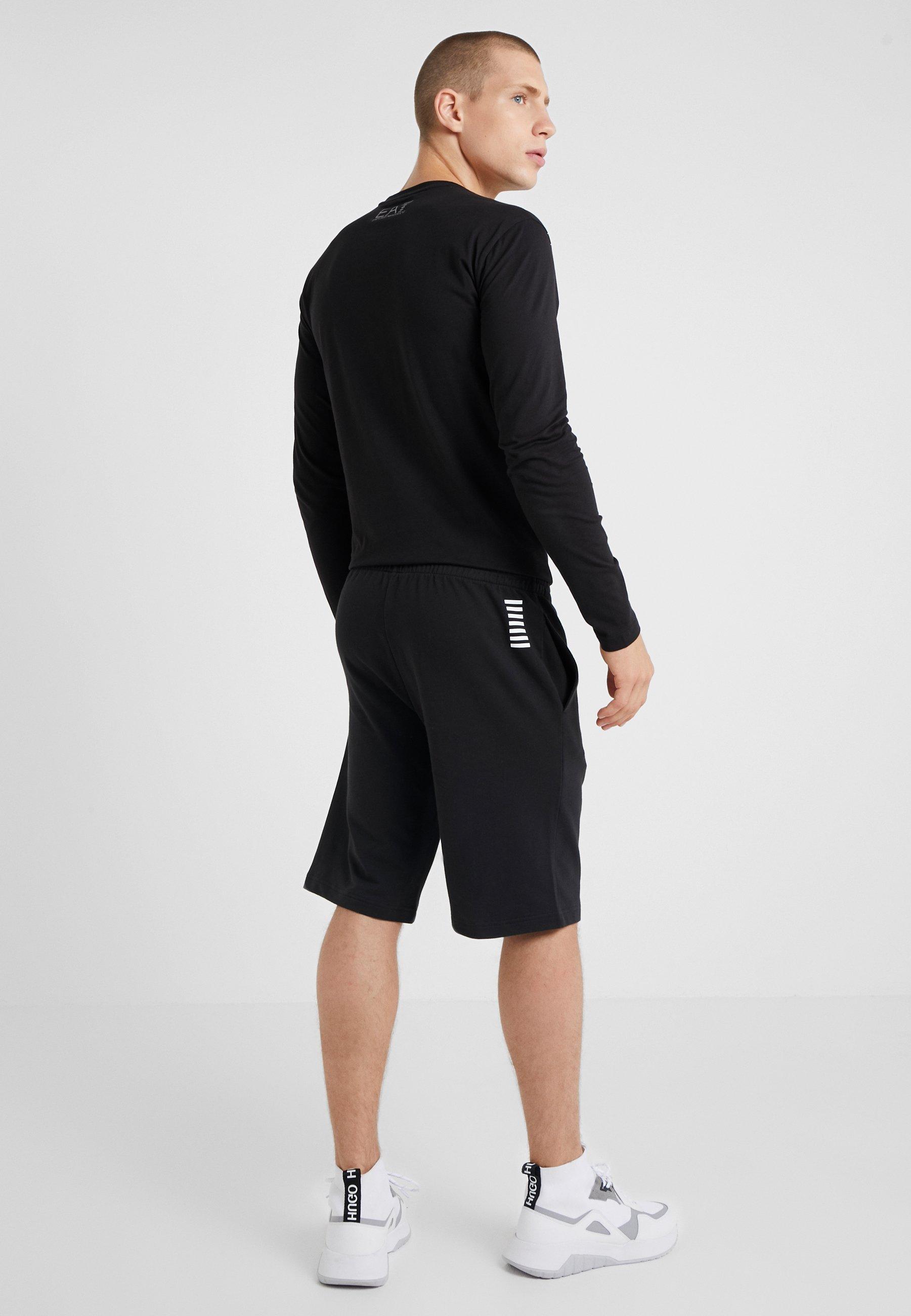 Ea7 De Armani Black Survêtement Emporio BermudaPantalon 8OkXPn0wN