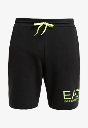 Tracksuit bottoms - black / neon / yellow