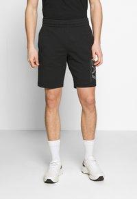 EA7 Emporio Armani - BERMUDA - Pantalon de survêtement - black - 0
