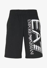 EA7 Emporio Armani - BERMUDA - Pantalon de survêtement - black - 4