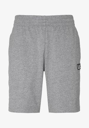 BERMUDA - Pantalones deportivos - medium grey melange