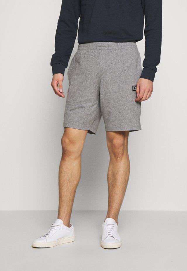 BERMUDA - Spodnie treningowe - medium grey melange