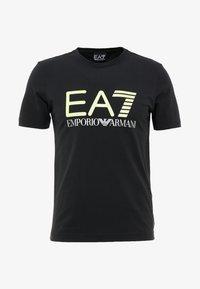EA7 Emporio Armani - Triko spotiskem - black - 3