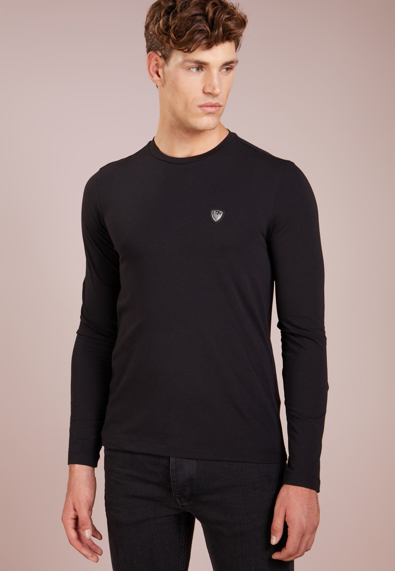EA7 Emporio Armani - Camiseta de manga larga - black