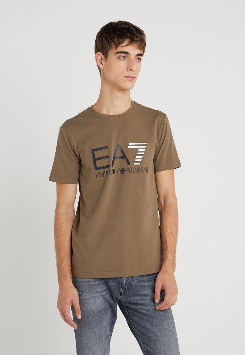 EA7 Emporio Armani - T-Shirt print - grey