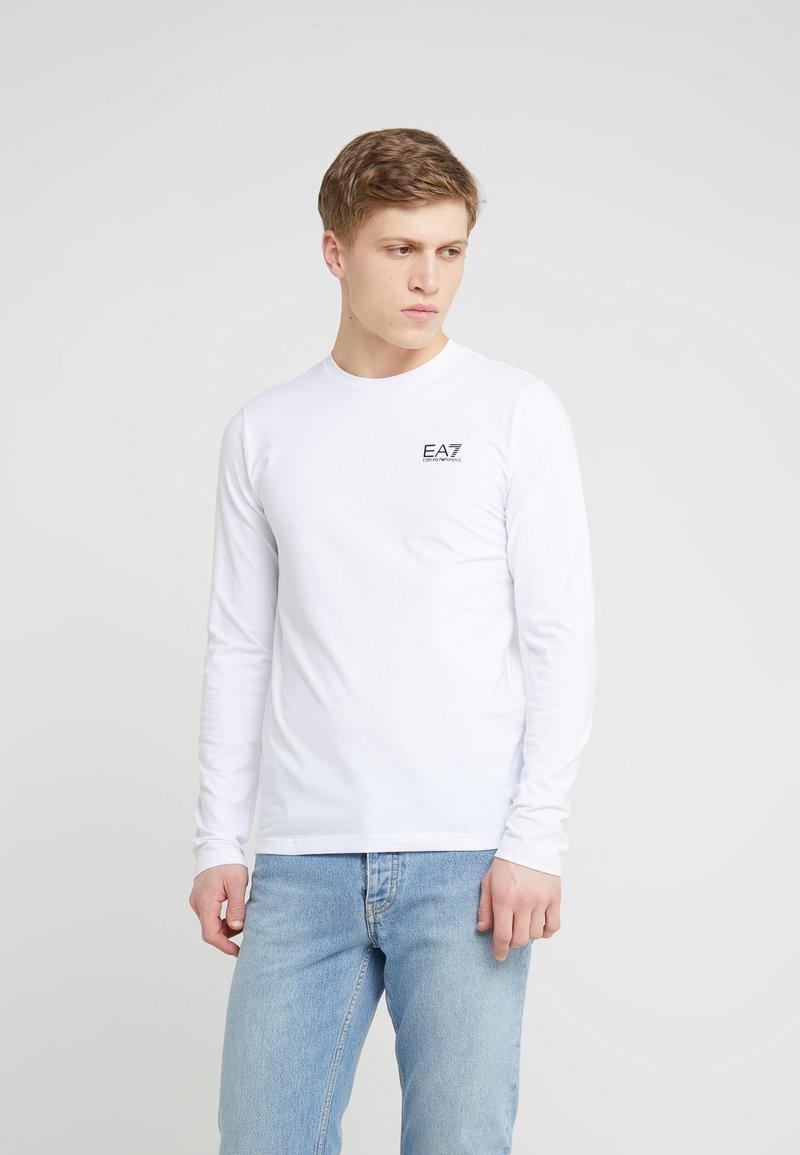 EA7 Emporio Armani - Camiseta de manga larga - white