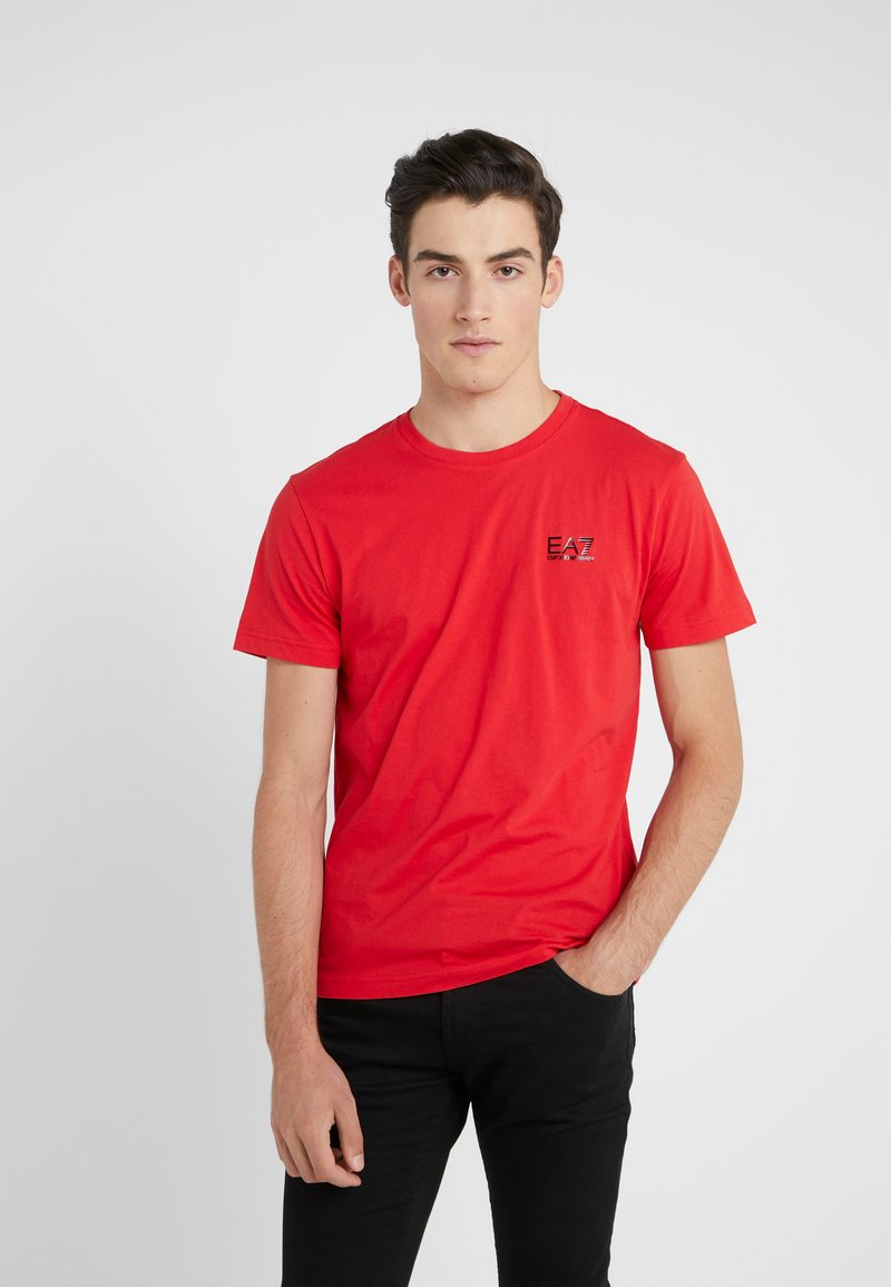 EA7 Emporio Armani - T-shirts basic - red