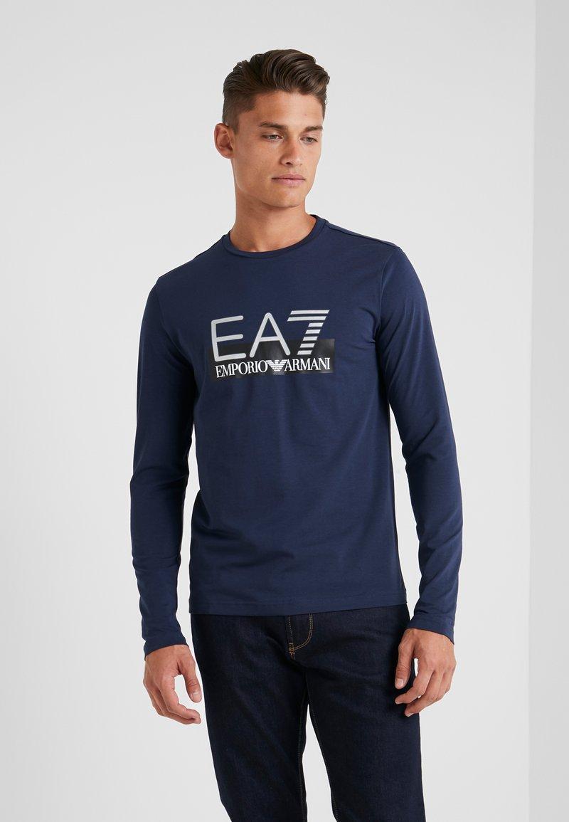 EA7 Emporio Armani - Långärmad tröja - blue